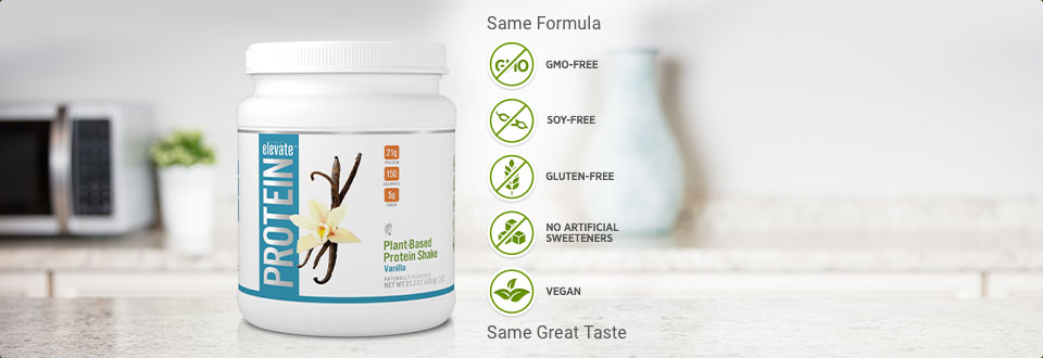 Plant Based Protein Shake: Vanilla - Melaleuca
