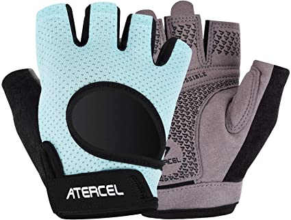 Amazon.com: Atercel Workout Gloves 2021 Upraded Full Palm Protection, Best Exercise Gloves for Gym, Cycling, Weight Lifting, Breathable, Super Lightweight for Men and Women: Sports & Outdoors