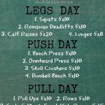 3 Days Push-Pull workout