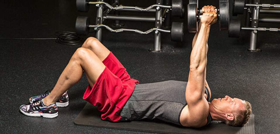 9 Dumbbell Chest Exercises without a Bench Press | Athletic Muscle