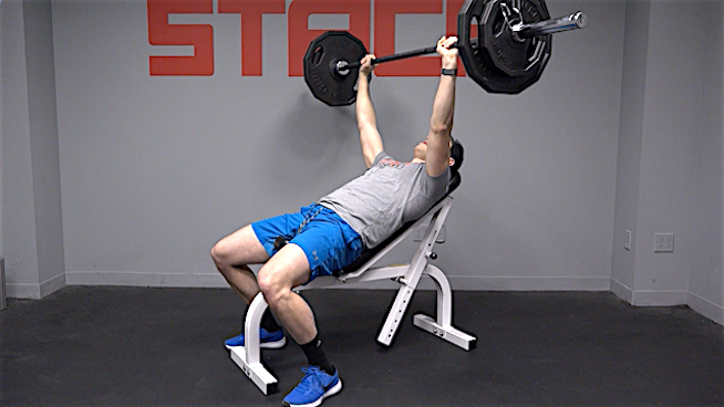 Do The Incline Bench Press for a Stronger and Bigger Chest (With Form Tips and Variations) | STACK