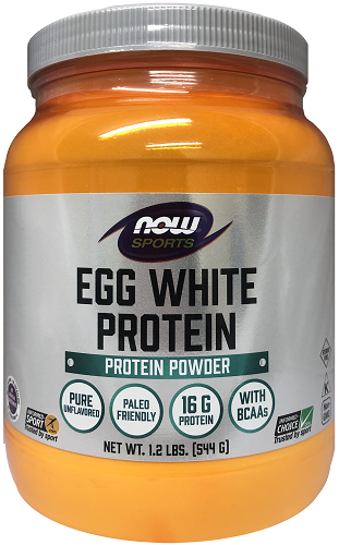 NOW - Sports - Egg White Protein Powder 544g - Expiry 03/21 :: NOW - Sports Nutrition :: NOW :: *SHOP BY BRAND :: Pharmacy Direct - NZ's favourite online pharmacy