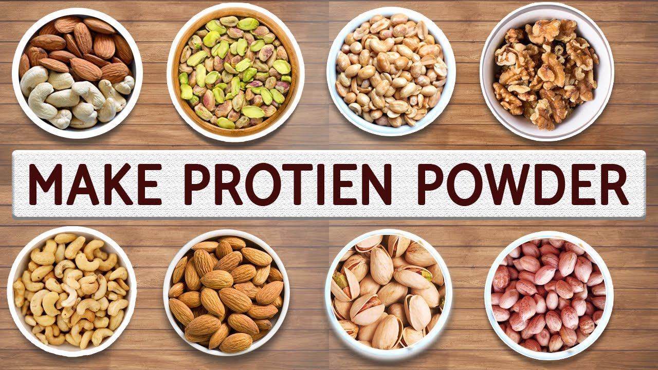 How To Make Protein Powder At Home | Ultimate Protein Powder For BODYBUILDING - YouTube