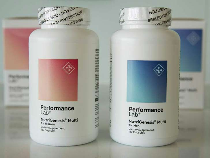Performance Lab NutriGenesis Multi Review - The Sport Review