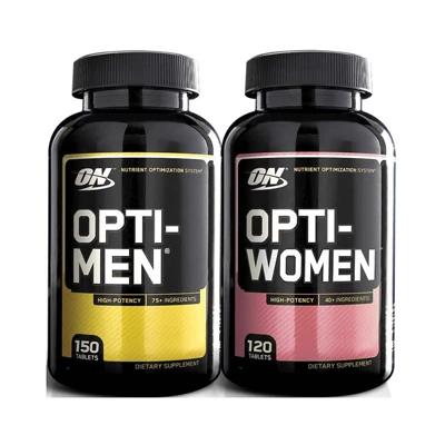 Optimum Nutrition Opti-Men + Opti-Women – Releaf Fit