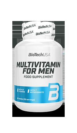 Multivitamin for Men - Vitamins and minerals - BioTechUSA