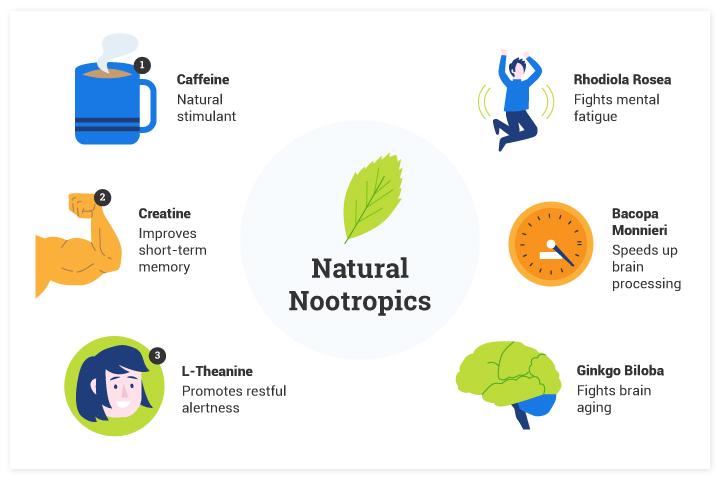 The 5 Most Effective Nootropics: List of the Best Nootropic Supplements and Smart Pills